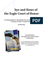 Eagle Court of Honor Training Module