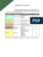 Criterios Evaluación 360°2013-I  PDE