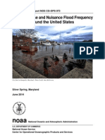 NOAA Nuisance Flooding Report 2014