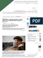 Entrevista Francisco d Oliveira - Folha de Sp