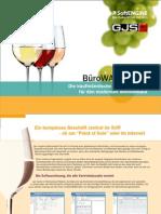 BüroWARE Wein Die kaufmännische Softwarelösung für den modernen Weinverkauf - SoftENGINE ERP