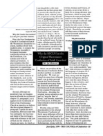 1999 Issue 4 - Why the RPCUS Has the Original Westminster Confession of Faith Unrevised - Counsel of Chalcedon