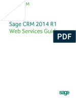 Web Services Guide for CR