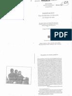 Dussel y Finocchio - Enseñar hoy Una intro a la educ en tiempos de crisis (pp 67-79 y 109-115)