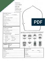 Pheniex Leather Shield Order Form