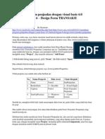 97666442 Membuat Program Penjualan Dengan Visual Basic 6