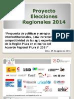 Propuesta para el incremento de la competitividad agroexportadora de la región Piura en el marco del Acuerdo Regional Piura al 2021