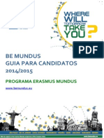 BEMUNDUS Guidelines for Applicants PT
