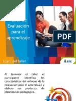 Material del Taller de  Evaluaci+¦n de los aprendizaje