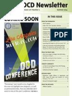 OCD Newsletter — Vol 28, Issue 2, Summer 2014