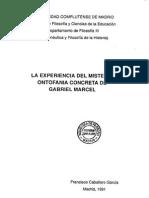 Caballero Garcia Francisco - La Experiencia Del Misterio