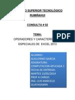 Consulta #02 Computacion Excel