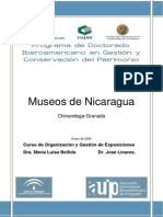 Museos de Nicaragua