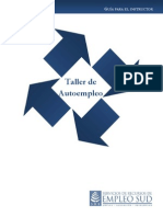Taller de Autoempleo - Manual Del Instructor