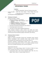 Lampiran 2 (Spesifikasi Teknis)