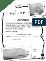 Monografia de Investigacion Del Polihidramnios