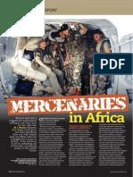 Air Mercenaries in Africa AirForces