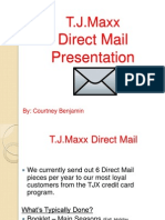 my direct mail presentation