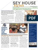 Odyssey House News, Spring 2006 edition