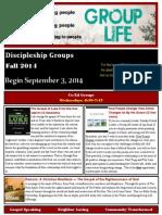 Group Life Catalog Fall 2014