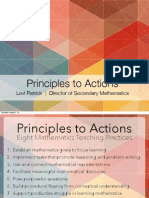 Principles to Actions
