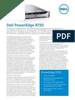 Dell PowerEdge R720 Spec Sheet ES XL