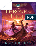 Book 2- Throne of Fire by Rick Riordan