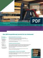 BüroWARE Holzhandel Flexible Komplettlösungen für den Holzhandel