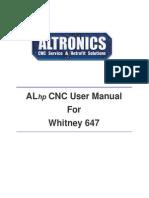 ALhp User Manual