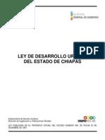 Ley de Desarrollo Urbano Del Estado de Chiapas