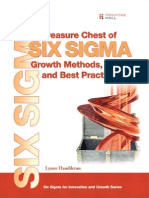 Treasure Chest of Six Sigma Growth Meths., Tools, Best Practs. - L. Hambleton (Pearson, 2008)