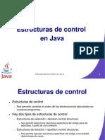 Estructura de Control en Java
