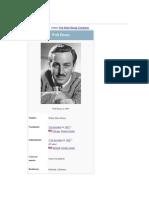 Walt Disney - Semblanza Wikipedia