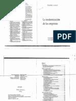 Linhart_La Modernización de Las Empresas