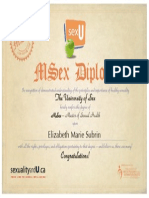 msex diploma