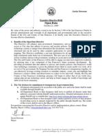 City of San Francisco Executive Directive 09-06