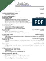priscilla fisher resume - copy