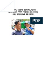 06 Enf 522 Manual Sobre Estimulacion Temprana Para Padres de Niños Con Sindrome de Down