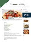 Spaghetti Alla Puttanesca - Whore's Style Spaghetti _ Campania Food & WineCampania Food & Wine