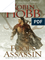 Fool's Assassin by Robin Hobb, 50 Page Fridays