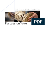 Percussion Tutor Book