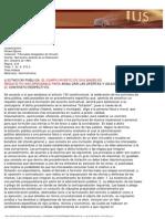 Jurisprudencia_Efectos Legales Cumplimiento Bases Licitación