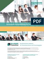 BüroWARE Franchise Dynamische Komplettlösung für Franchisesysteme