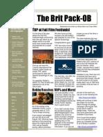 TBP August 2014 Newsletter, Vol 2, Issue 8