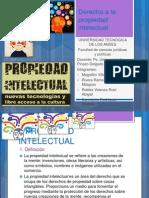 Derecho a La Propiedad Intelectual Power