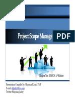 PMBOK - CAP 10 Scope Management