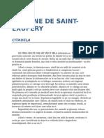 Antoine de Saint Exupery-Citadela 0.1 08