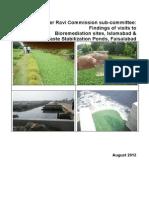 River Ravi Commission Report