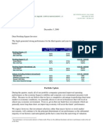 Pershing Square Third Quarter Investor Letter