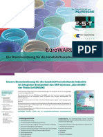 BüroWARE Plastics Die Branchenlösung für die kunststoffverarbeitende Industrie
